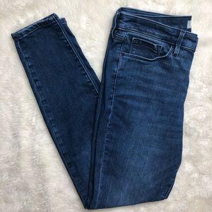 Athleta Skulptek Skinny Jeans High Rise Size 8